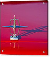 1967 Lincoln Continental Hood Ornament -158c Acrylic Print