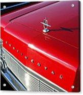 1967 Lincoln Continental Hood Ornament - Emblem -646c Acrylic Print