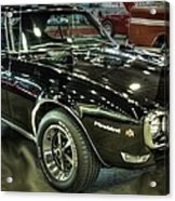 1967 Pontiac Firebird 400 Reverse Selective Color Acrylic Print