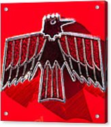 1967 Pontiac Firebird Emblem Acrylic Print