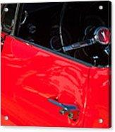 1967 Pontiac Firebird Steering Wheel Emblem Acrylic Print