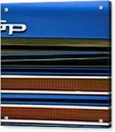 1967 Pontiac Hurst Grand Prix Convertible Taillight Emblem -3584c Acrylic Print