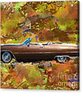 1968 Cadillac Deville Acrylic Print