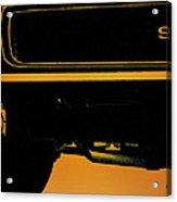 1968 Camaro Ss Front End Closeup  Acrylic Print