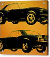 1968 Camaro Ss Side View Acrylic Print