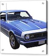 1968 Chevrolet Camaro 327 Muscle Car Acrylic Print
