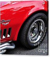 1968 Chevrolet Corvette Stingray Acrylic Print