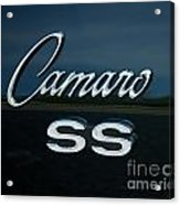1968 Chevy Camaro Ss Logo Acrylic Print
