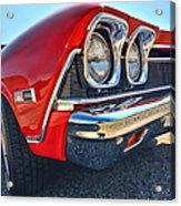 1968 Chevy Chevelle Ss 396 Acrylic Print