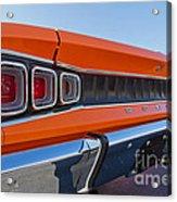 1968 Dodge Coronet R/t Acrylic Print