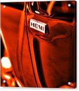 1968 Hemi Dodge Charger Acrylic Print