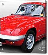 1968 Lotus - Elan S4 -  Full View Acrylic Print