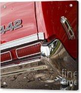 1968 Oldsmobile 442 Acrylic Print