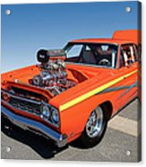 1968 Plymouth Road Runner Acrylic Print
