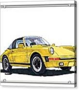 1968 Porsche Targa Acrylic Print