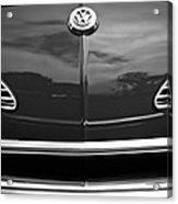 1968 Volkswagen Karmann Ghia Convertible Acrylic Print