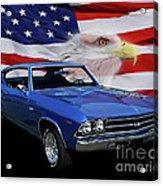 1969 Chevelle Tribute Acrylic Print