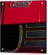 1969 Chevrolet Camaro Rally Sport Emblem Acrylic Print