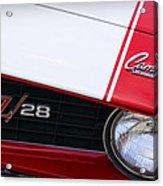 1969 Chevrolet Camaro Z28 Acrylic Print