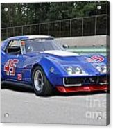1969 Chevrolet Corvette Race Car Acrylic Print