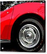 1969 Chevrolet Corvette Stingray - Vi Acrylic Print