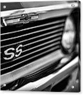 1969 Chevy Nova Ss  Acrylic Print