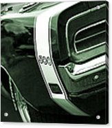 1969 Dodge Charger 500 Acrylic Print