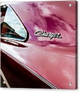 1969 Dodge Charger Acrylic Print