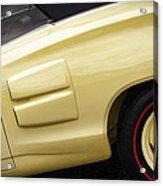 1969 Dodge Coronet R/t Convertible Acrylic Print