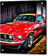 1969 Ford Boss 429 Mustang Acrylic Print