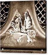 1969 Iso Grifo Emblem Acrylic Print