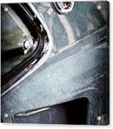 1969 Mustang Mach 1 Emblem Acrylic Print