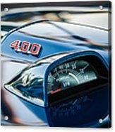 1969 Pontiac 400 Firebird Convertible Guage -1105c Acrylic Print