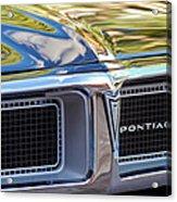 1969 Pontiac Firebird 400 Grille Acrylic Print