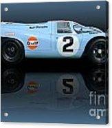 1969 Porsche 917k Gulf Daytona Winner Acrylic Print