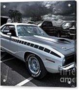 1970 Aar Barracuda Acrylic Print