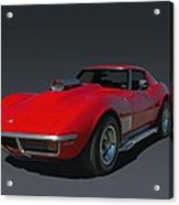 1970 Chevrolet Corvette 454 Stingray Acrylic Print