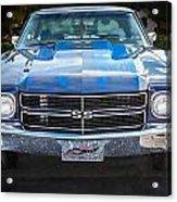 1970 Chevy Chevelle 454 Ss   Acrylic Print