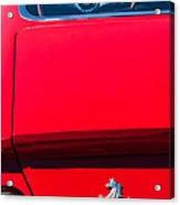 1970 Ferrari 365 Gtb-4 Daytona Berlinetta Taillight Emblem -1482c Acrylic Print