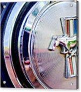 1970 Ford Mustang Mach 1 Emblem Acrylic Print