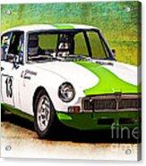 1970 Mgb Gt Acrylic Print