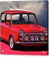 1970 Morris Mini Cooper Acrylic Print