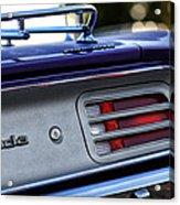 1970 Plum Crazy Purple Plymouth 'cuda Acrylic Print