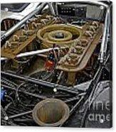 1970 Porsche 917k Engine Acrylic Print