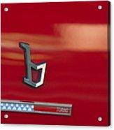 1971 Alfa Romeo Montreal Emblem Acrylic Print