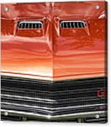 1971 Buick Gs Sport Coupe Acrylic Print