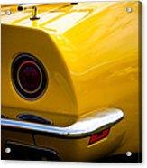 1971 Chevrolet Corvette Stingray Acrylic Print