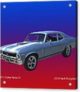 1971 Chevy Nova S S Acrylic Print