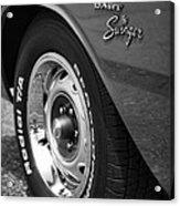 1971 Dodge Dart Swinger Acrylic Print