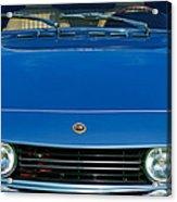 1971 Fiat Dino 2.4 Grille Acrylic Print by Jill Reger